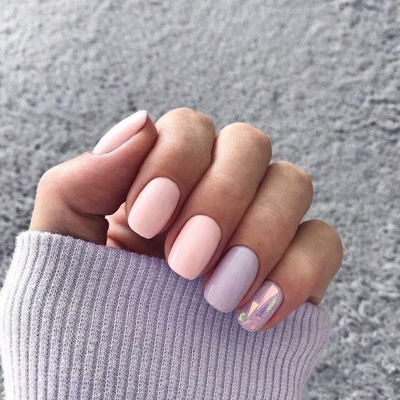 Дизайн ногтей зима 2019 фото новинки (15)