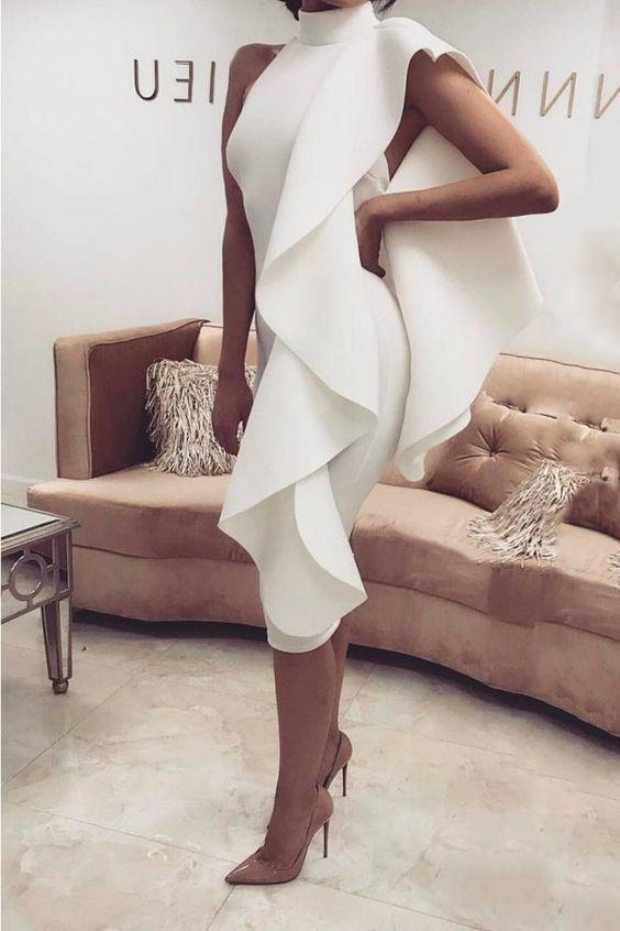 Короткие новогодние платья 2019 (21)