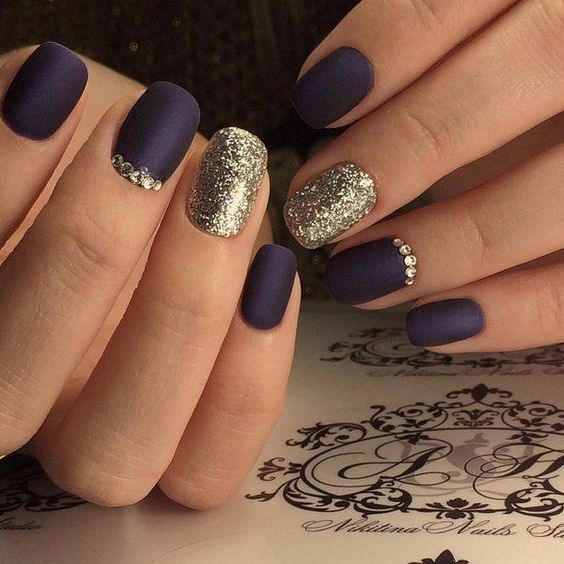 Дизайн ногтей зима 2019 фото новинки (22)