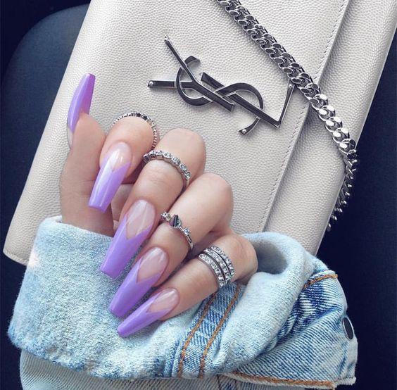 Ногти гель-лак дизайн Новый год 2019 (26)
