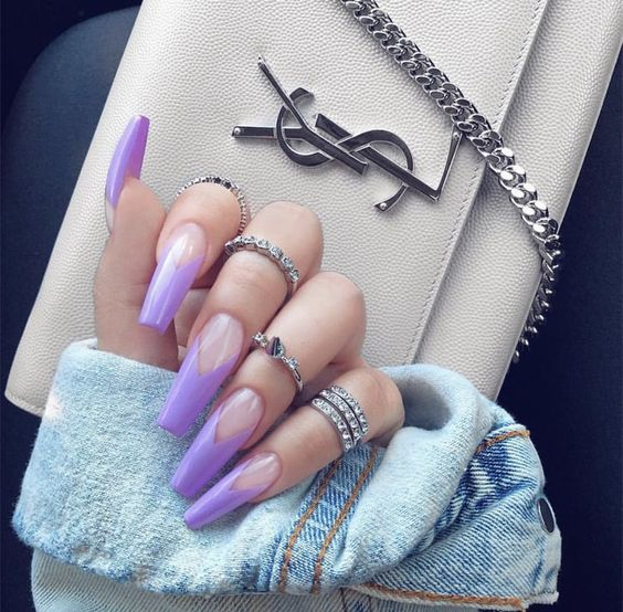 Красивый зимний дизайн ногтей 2019 (35)