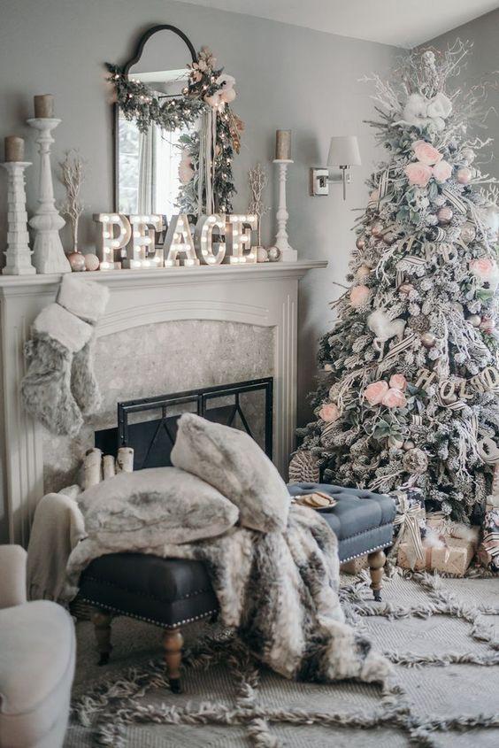 Как украсить дом к Новому году 2019? (27)