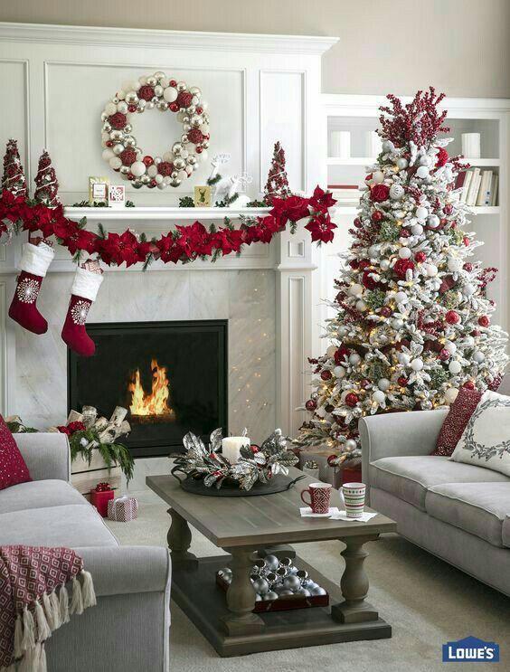 Как украсить дом к Новому году 2019? (17)