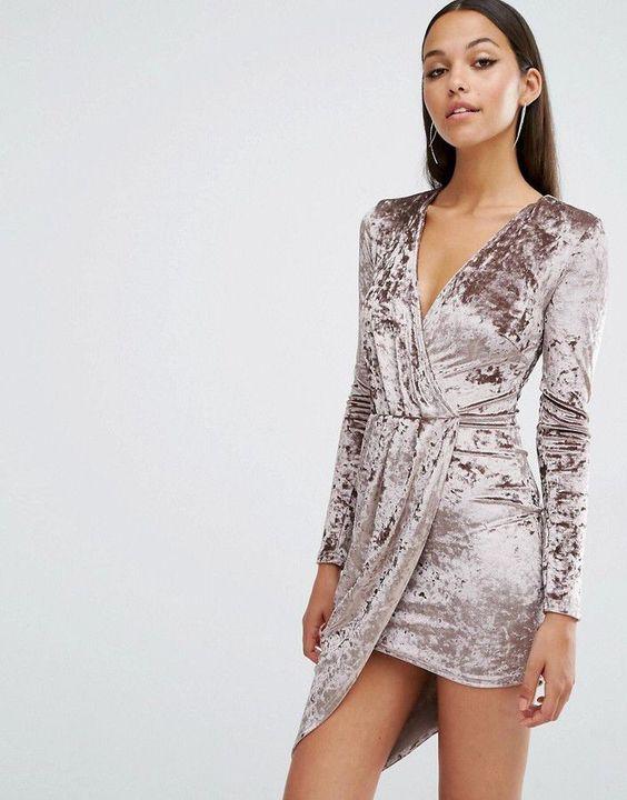 Короткие новогодние платья 2019 (18)