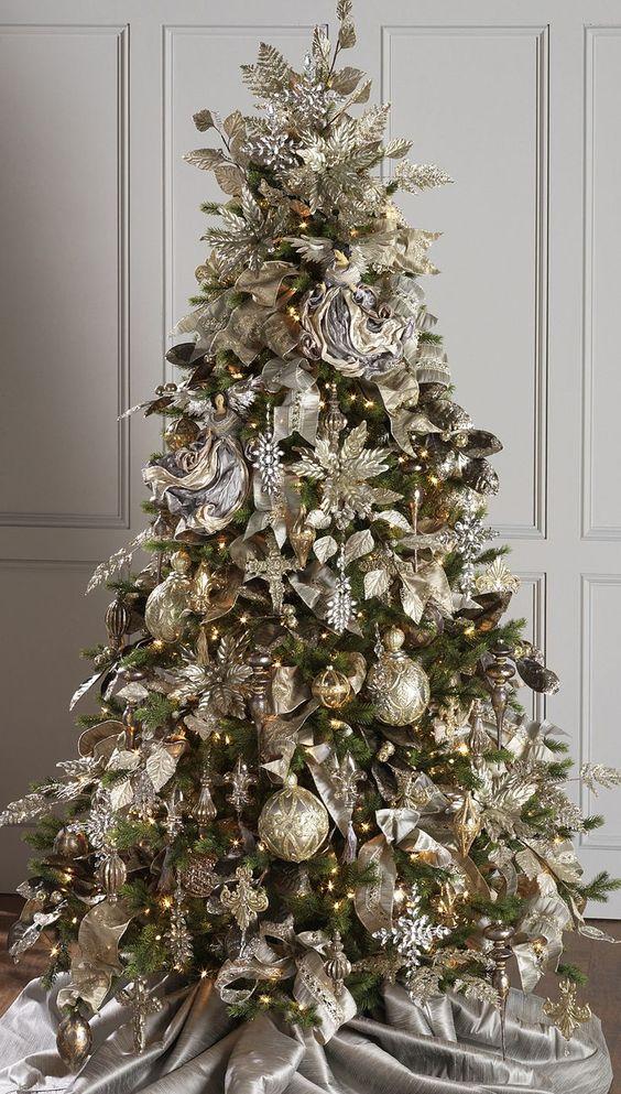 Как украсить ёлку к Новому году 2019? (13)