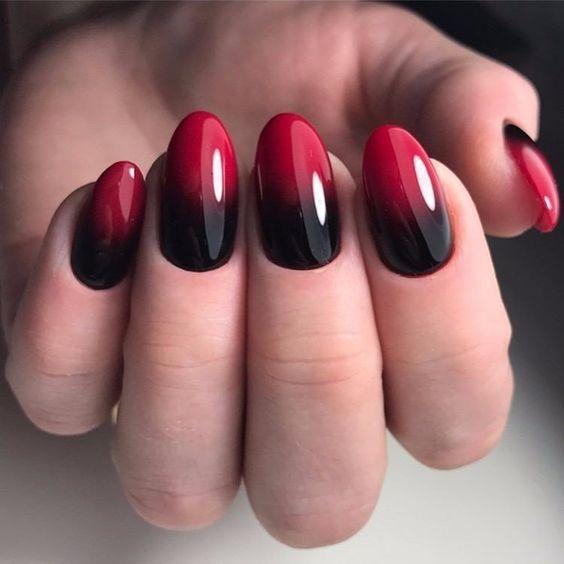 Красивый осенний дизайн ногтей 2019 (17)