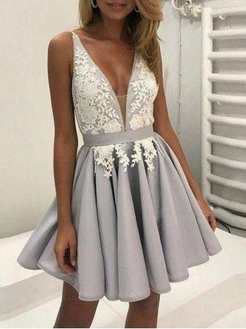 Короткие новогодние платья 2019 (15)