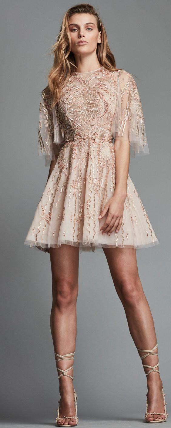 Короткие новогодние платья 2019 (14)