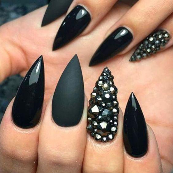 Красивый осенний дизайн ногтей 2019 (14)