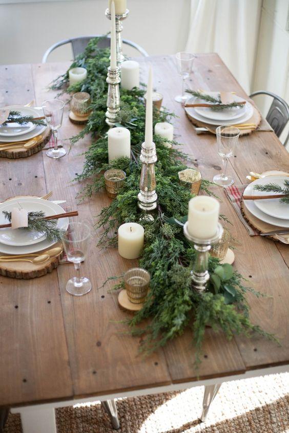 Как украсить новогодний стол 2019? (1)