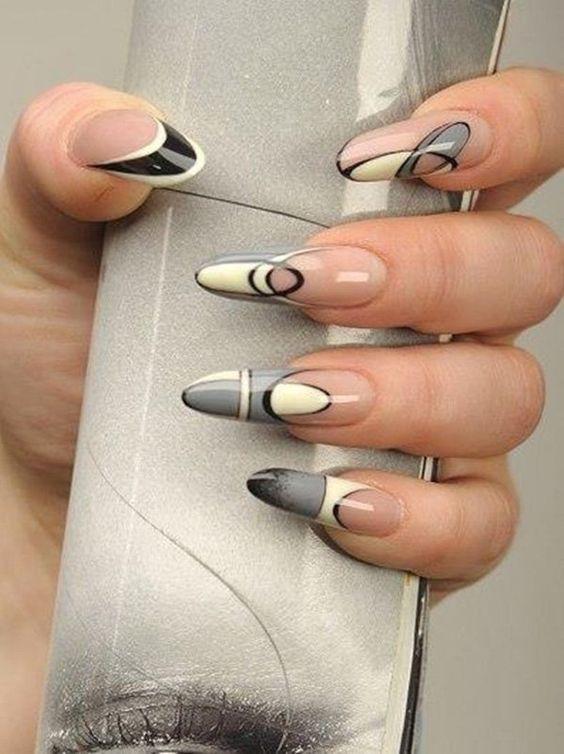 Красивый осенний дизайн ногтей 2019 (1)