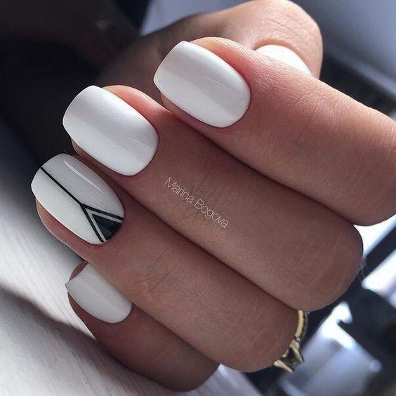 Дизайн ногтей на Новый год 2019 (14)
