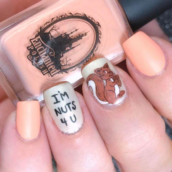 Белка на ногтях (14)