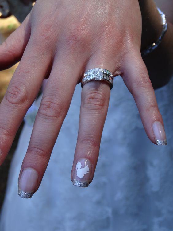 Белка на ногтях (23)