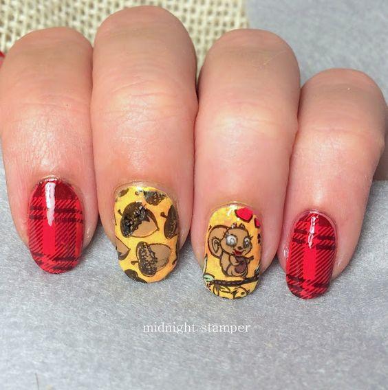 Белка на ногтях (22)