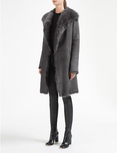 Модные дубленки 2019 (10)