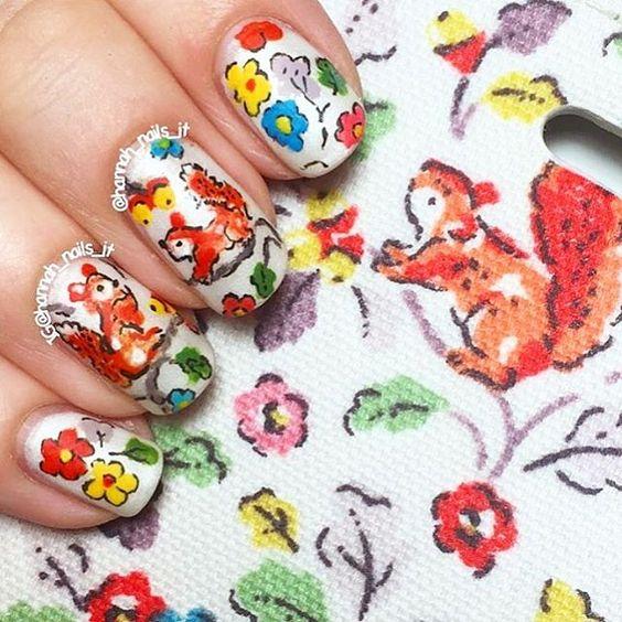 Белка на ногтях (19)