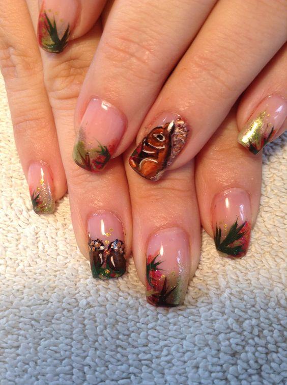 Белка на ногтях (13)