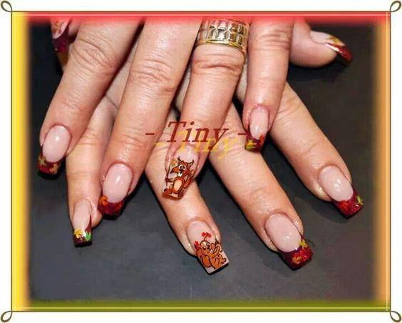 Белка на ногтях (7)