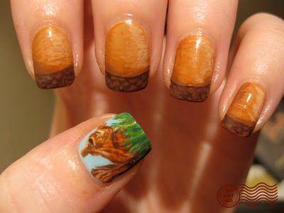 Белка на ногтях (6)