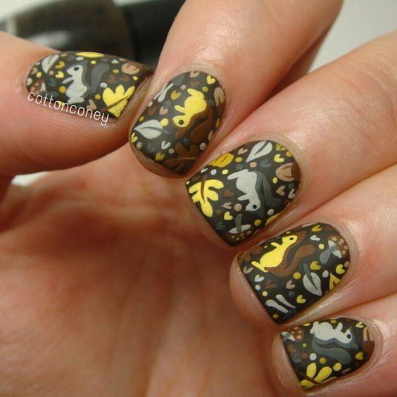 Белка на ногтях (1)