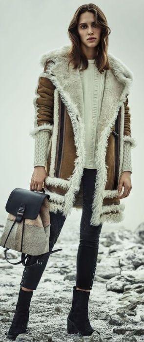 Модные дубленки 2019 (1)