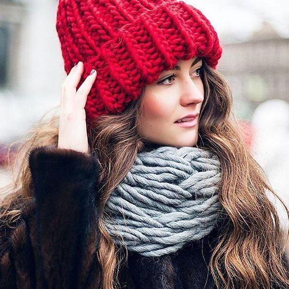 Тренды шапки зима 2019 (19)