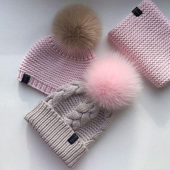 Тренды шапки зима 2019 (32)