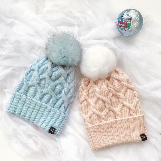 Тренды шапки зима 2019 (17)