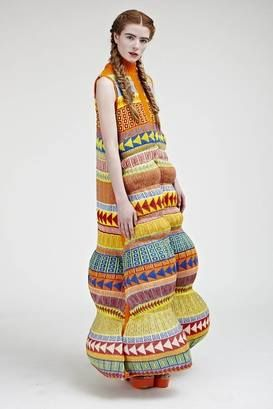 Вязаные платья 2019 (5)
