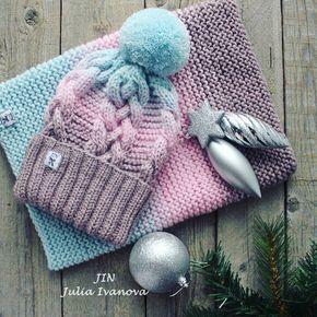 Вязаные шапки 2019 (15)