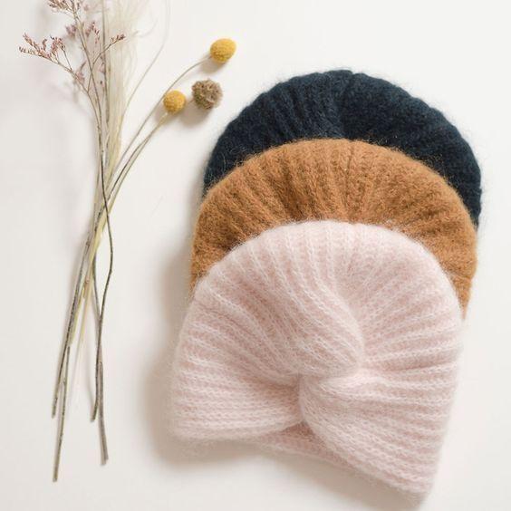 Вязаные шапки 2019 (9)