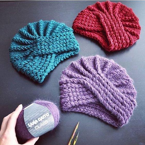 Вязаные шапки 2019 (2)