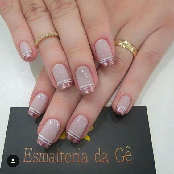Нежный дизайн ногтей весна 2019 (35)
