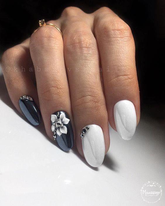 Нежный дизайн ногтей весна 2019 (33)