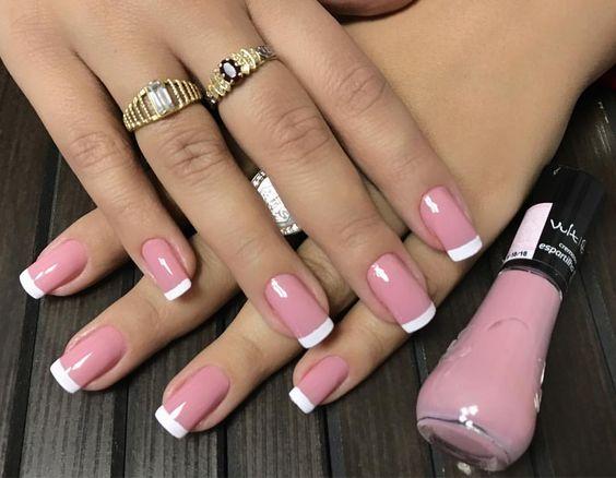Нежный дизайн ногтей весна 2019 (47)