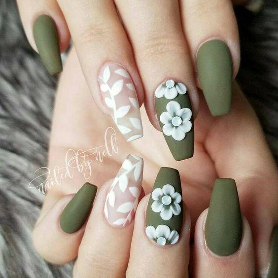 Нежный дизайн ногтей весна 2019 (2)