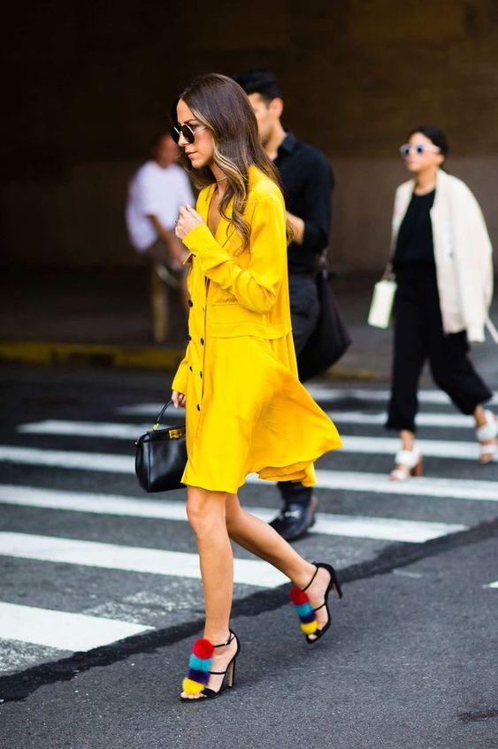 Жёлтое платье 2019 (15)