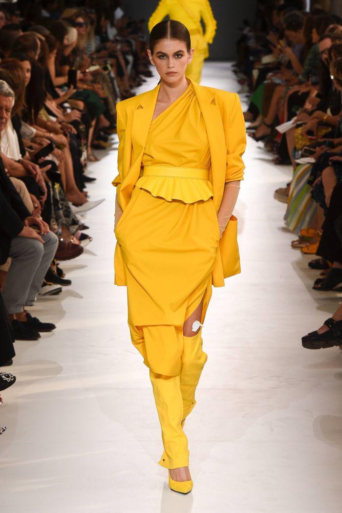 Жёлтое платье 2019 (3)