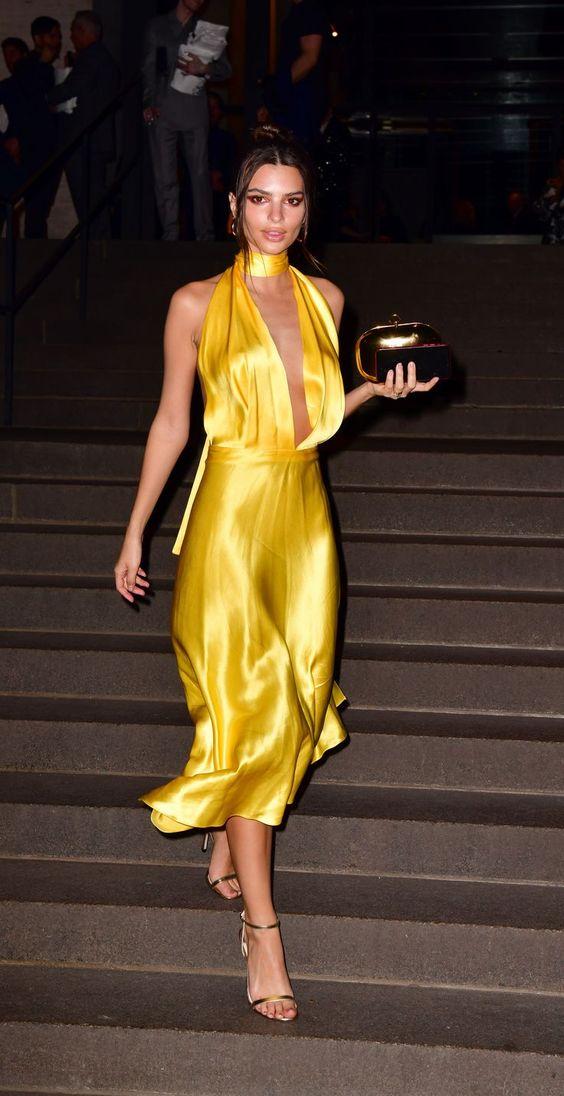 Жёлтое платье 2019 (12)