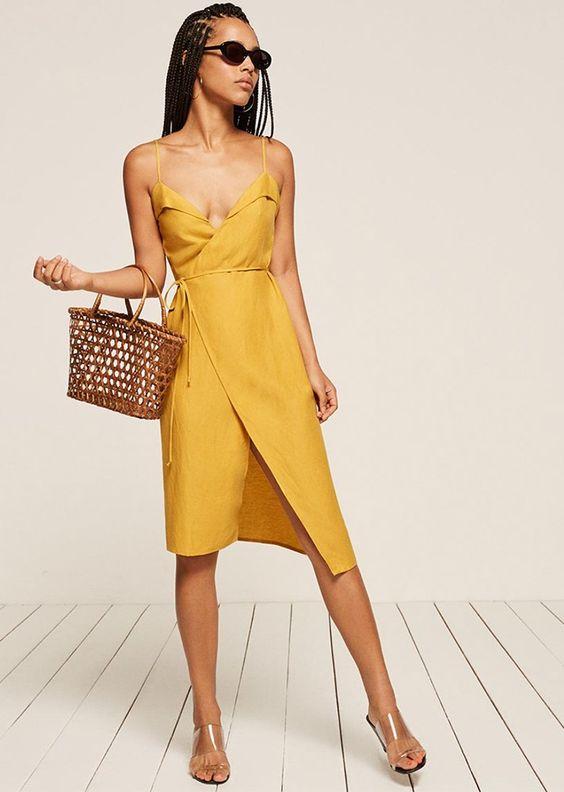 Жёлтое платье 2019 (11)