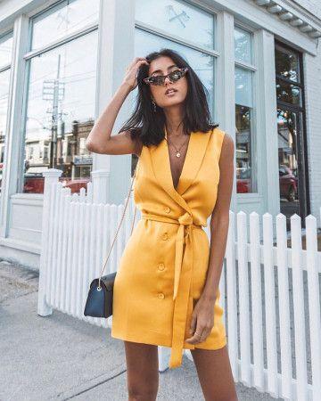 Жёлтое платье 2019 (7)