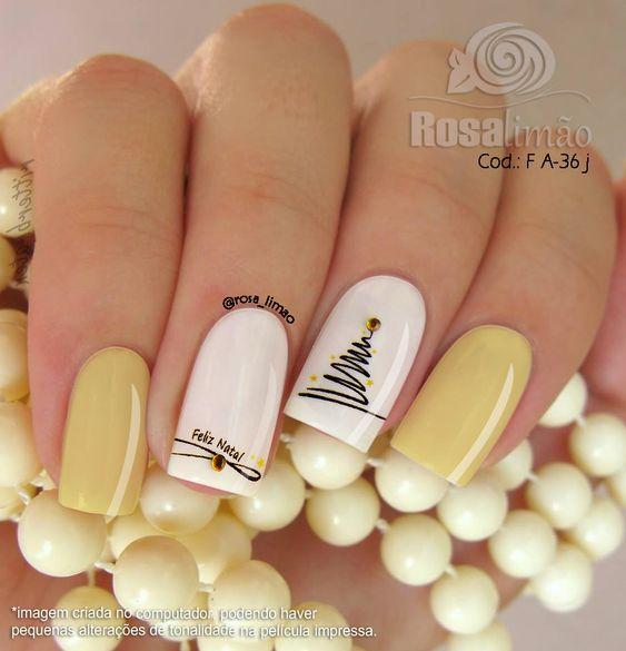 Светлые ногти дизайн 2020 (42)