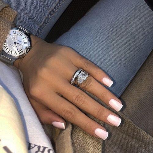 Светлые ногти дизайн 2020 (57)