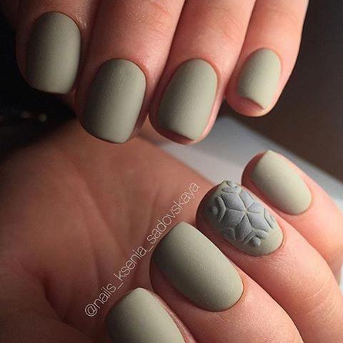 Светлые ногти дизайн 2020 (22)