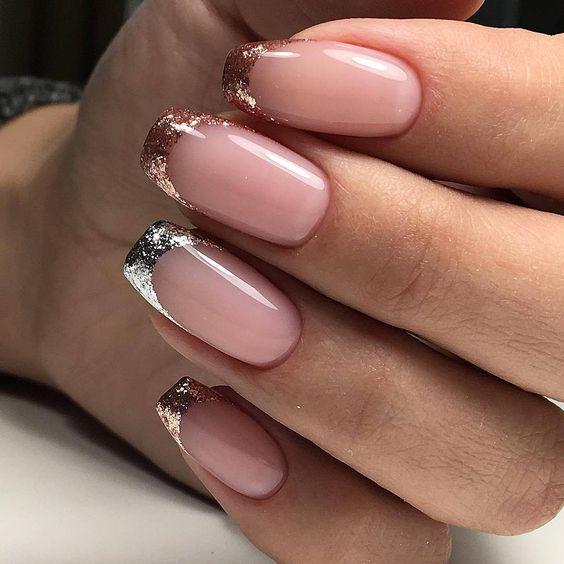 Светлые ногти дизайн 2020 (52)