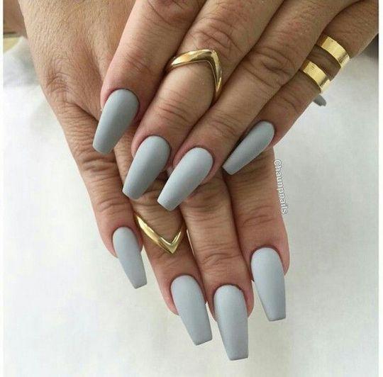 Светлые ногти дизайн 2020 (21)