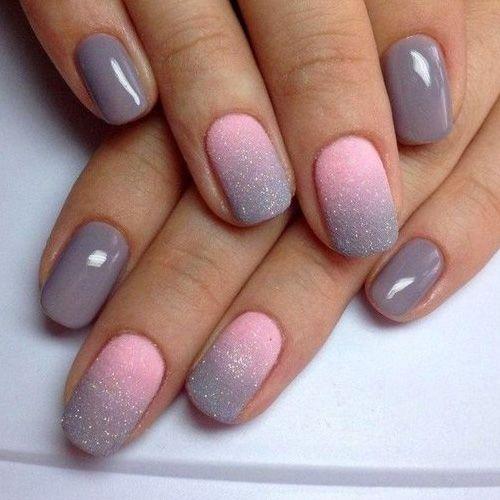Светлые ногти дизайн 2020 (33)