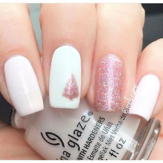Светлые ногти дизайн 2020 (36)