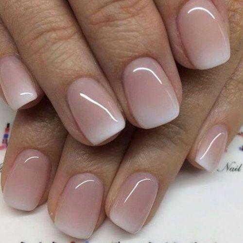 Светлые ногти дизайн 2020 (30)